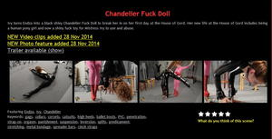 House of Gord: Chandelier Fuck Doll