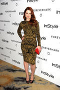 Александра Брекенридж, фото 28. Alexandra Breckenridge Forevermark And InStyle Golden Globe event - 10.01.2012, foto 28