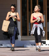 Vanessa & Stella Hudgens after a workout in Studio City 10/28/12