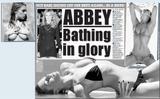 Abbey Clancy Daily Star 25th February