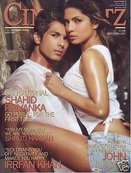 Priyanka Chopra looking hot in Cineblitz August 2009